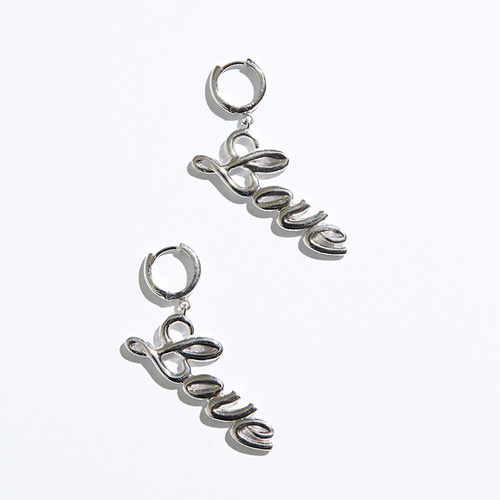 Love earring 1