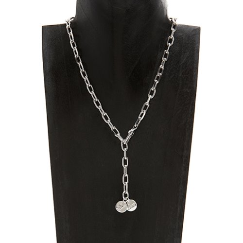 Love & Initial charm necklace