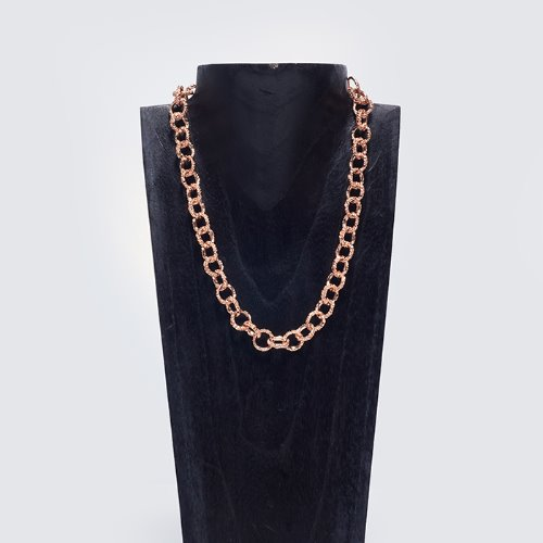 Round chain necklace (3 Colors)